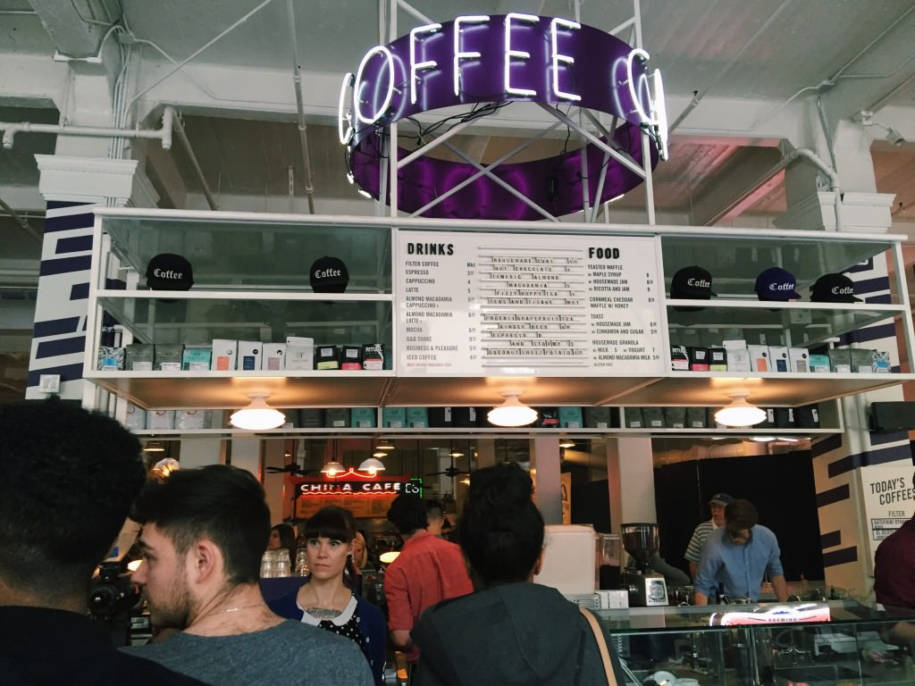 G&B Coffee at Grand Central Market Los Angeles
