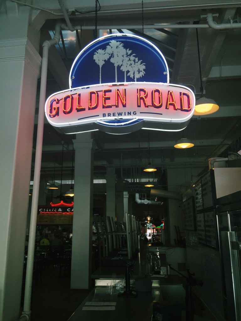 Golden Road Brewing outpost in Grand Central Market