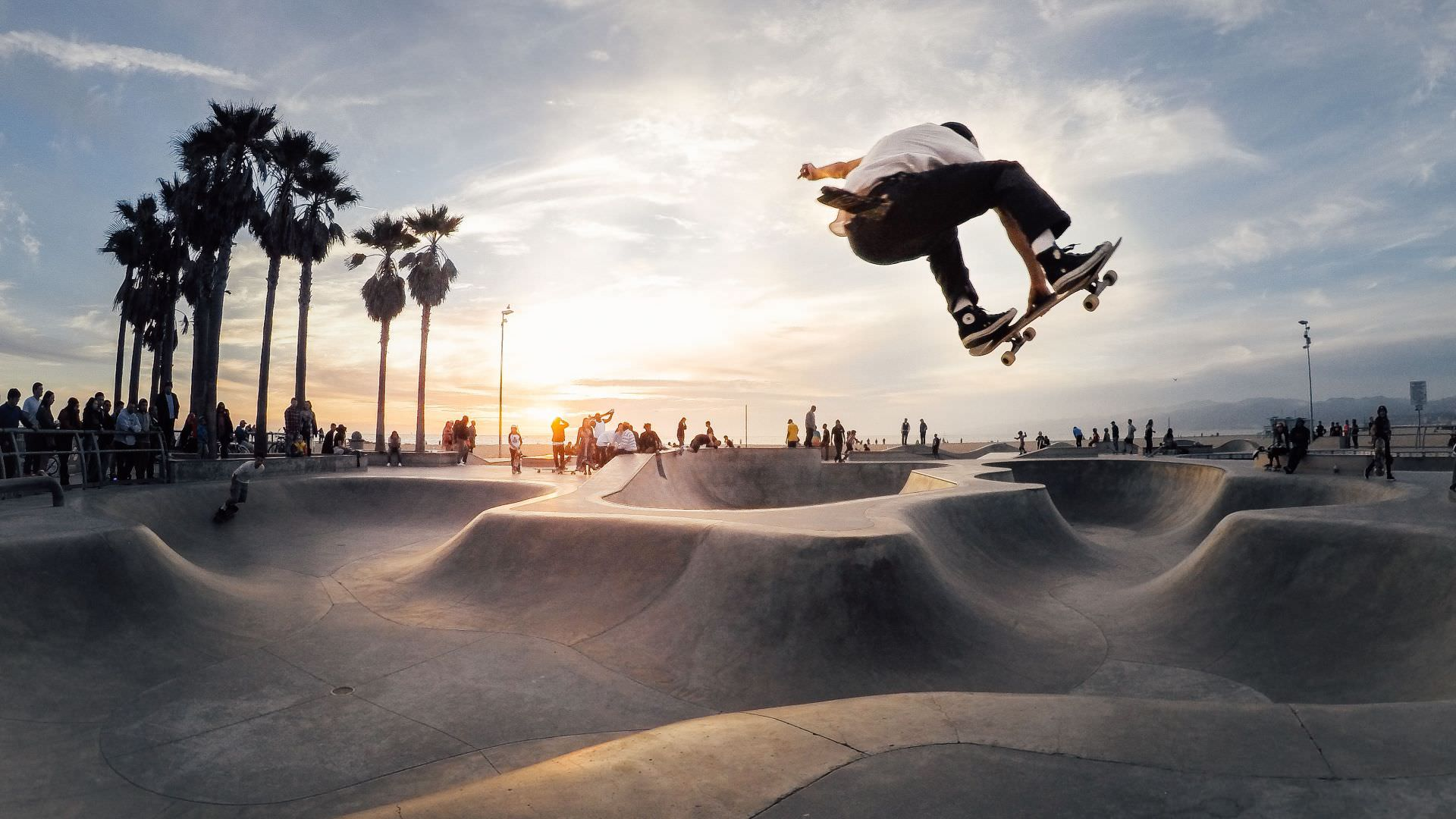 venice skate park on venice beach