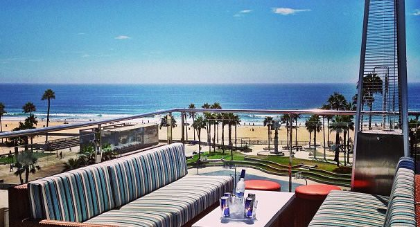 Fun Things To Do In Venice Beach Rooftop Of Hotel Erwin Los
