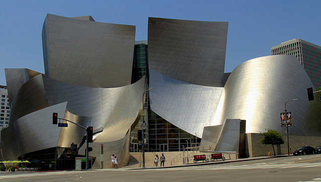 The Best Day Trips in Los Angeles include a stop on Grand Avenue at the Disney Concert Hall