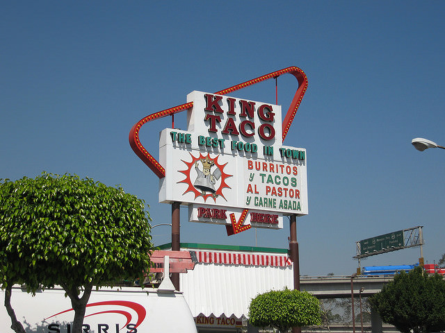 King Taco is one of 24-hour LA Restaurants