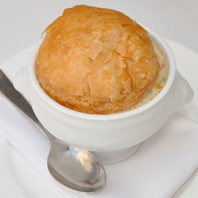 Lobster Pot Pie at Plan Check Where to Find the Best Lobster in Los Angeles