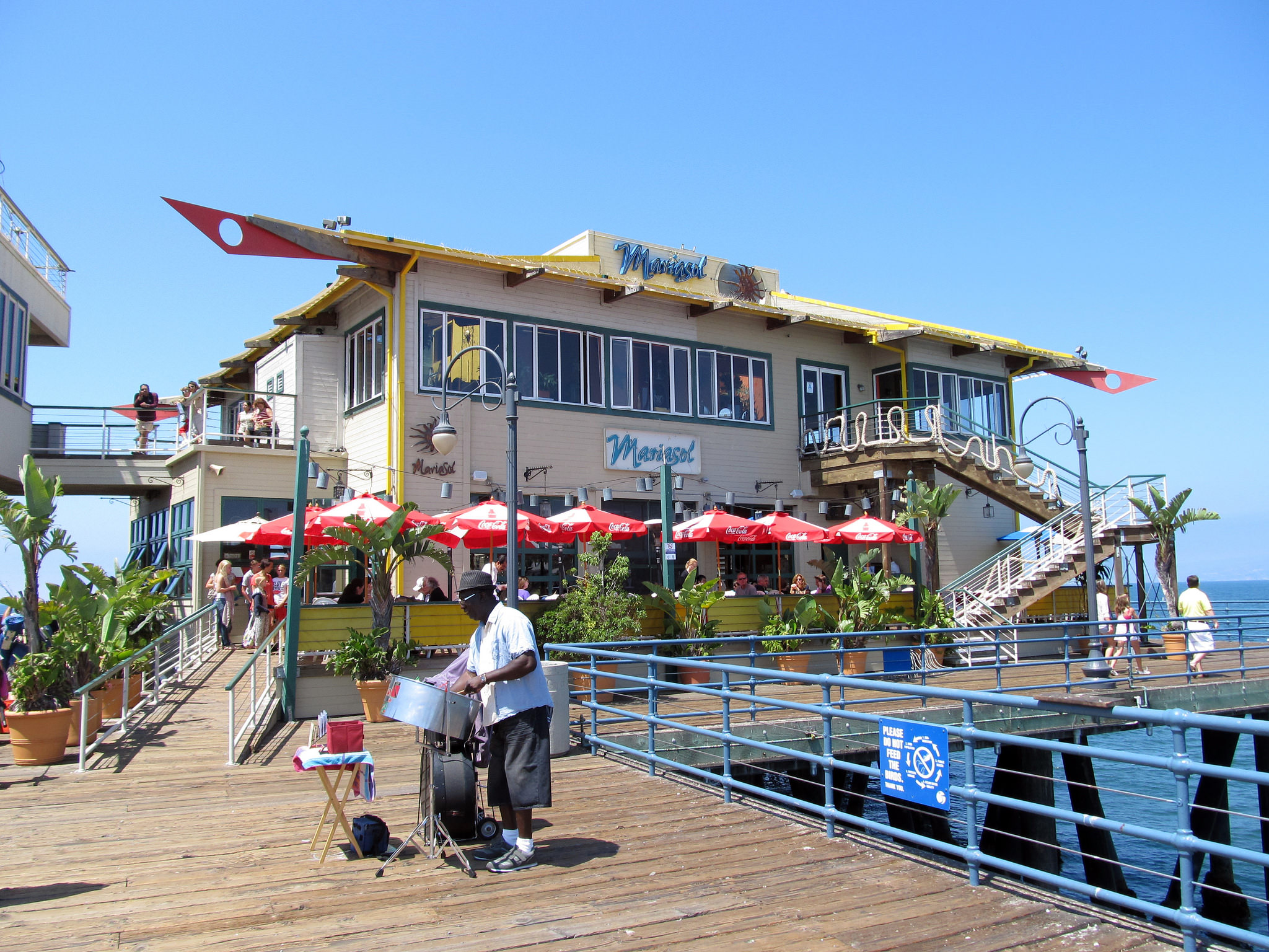 5 Restaurants with Breathtaking Views in Los Angeles: Mariasol on the SantaMonica Pier