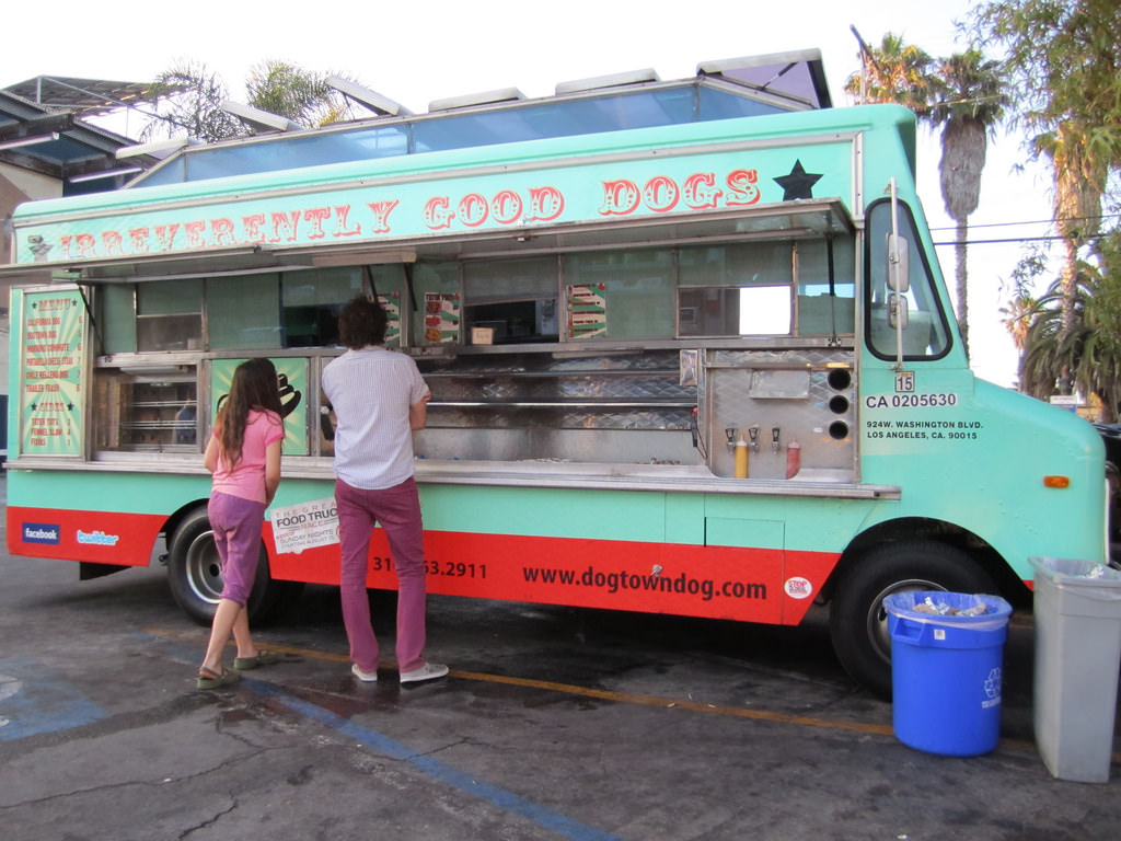 Venice Beach Ca Food Truck Friday