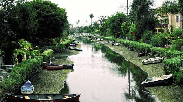 Venice canals made the list of 10 Things Everyone Should Do In LA Before They Die