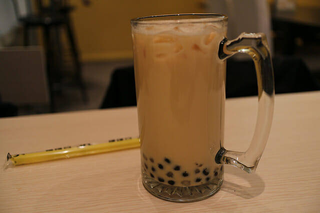 boba tea as part of Places to Get Caffeine Before Your Koreatown Tour