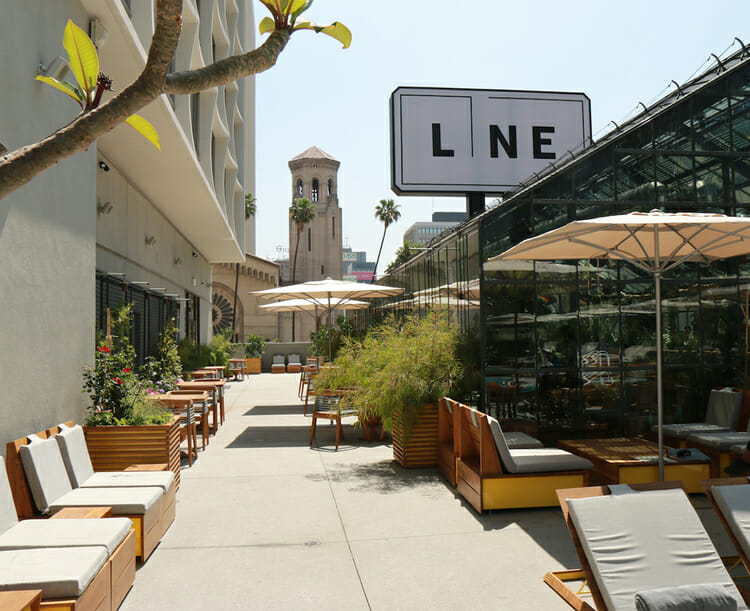 go to the line hotel for 5 Places to Get Caffeine Before Your Koreatown Tour