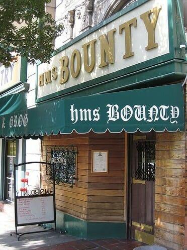 Koreatown Food Tour Meeting Location - HMS Bounty 2
