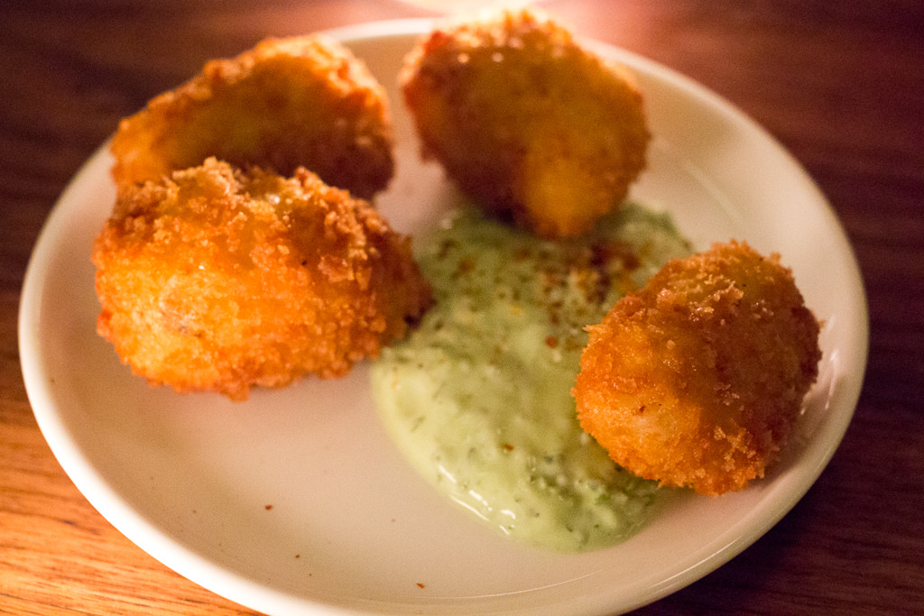 Try the croquettes at What To Eat At WoodSpoon, Our Favorite Brazilian Restaurant Los Angeles