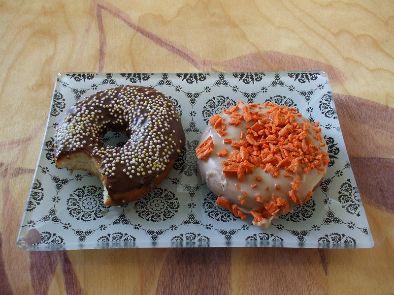 best places to eat in los angeles cheap includes two vegan donuts