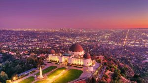 los angeles famous places to visit hiking to griffith observatory at night