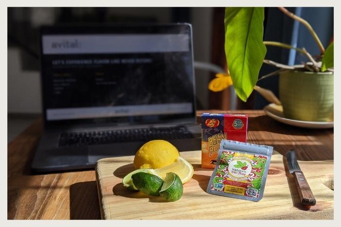 flavor kit delivered during virtual flavor tripping event