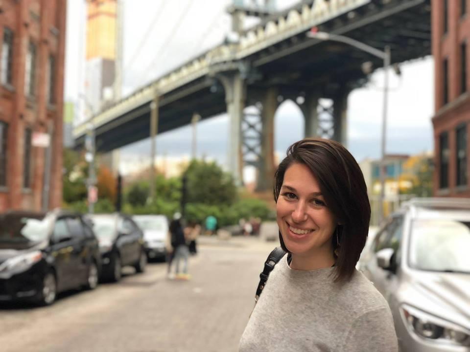 Avital Smiling in NYC