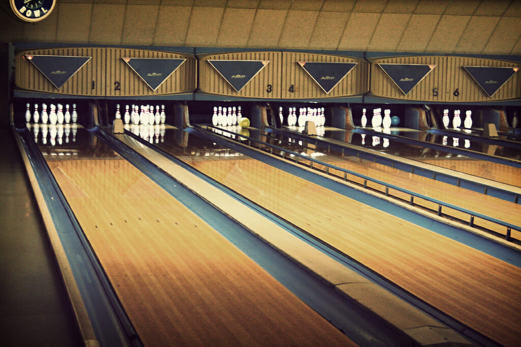 go bowling as one of The Best 30th Birthday Party Ideas in NYC