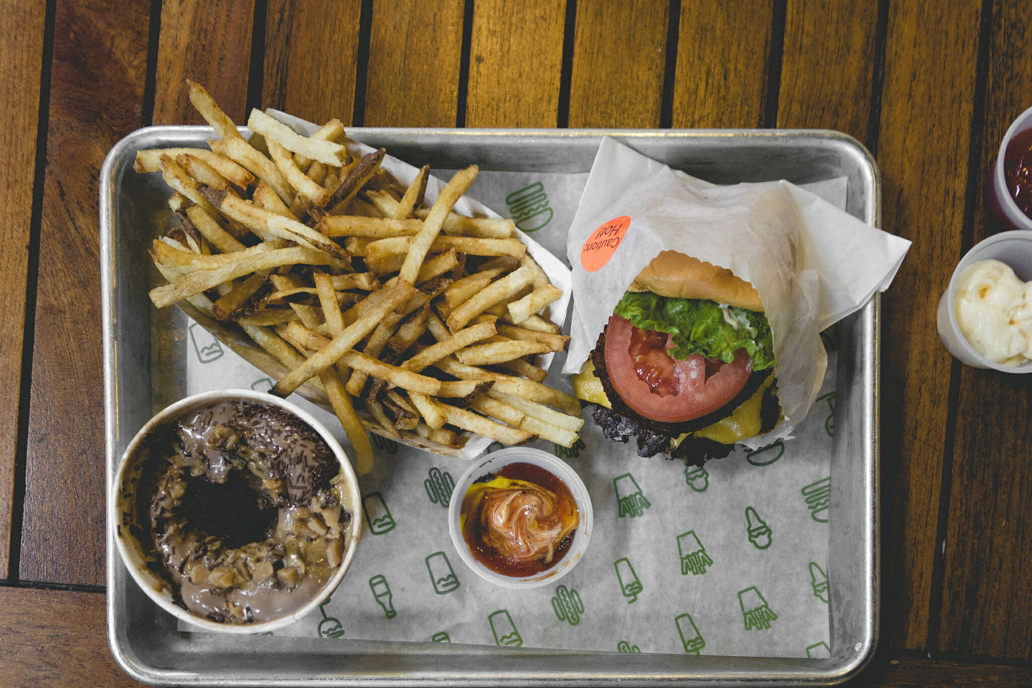 Shake Shack is one of Solid Food Options Near Times Square