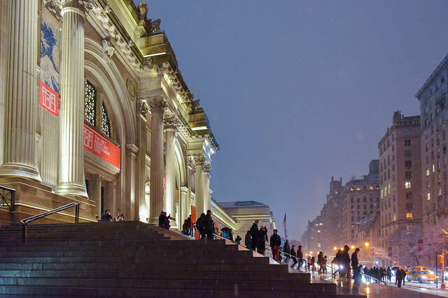 The met is a great place to visit if you're looking for 5 Ways To Embrace Your Inner-Tourist in NYC