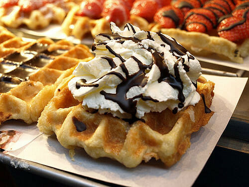 eat a waffle for breakfast at 5 Breakfast Restaurants Near Javits Center