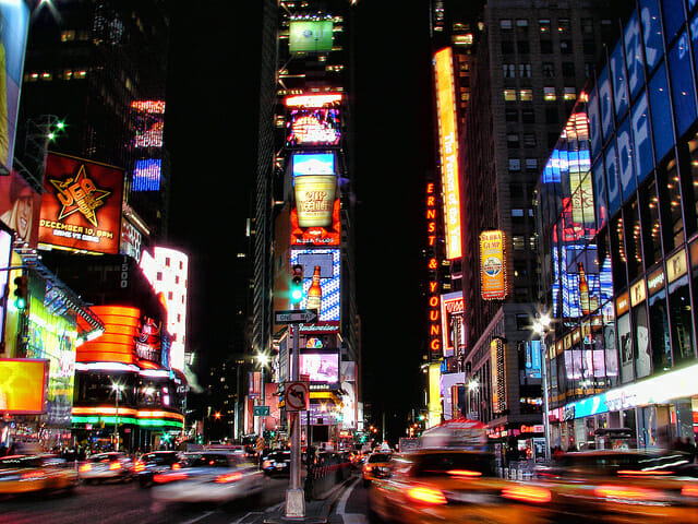 go to the theatre: 5 Ways To Embrace Your Inner-Tourist in NYC