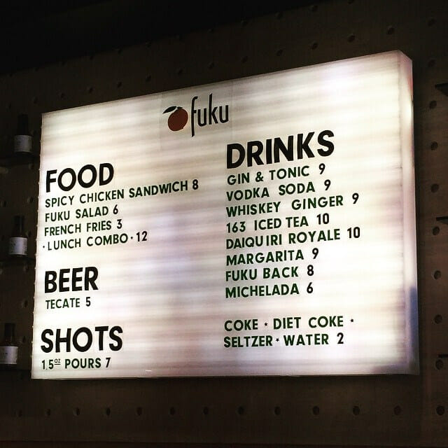 fuku+.NYC Happy Hours with (Good) Food: