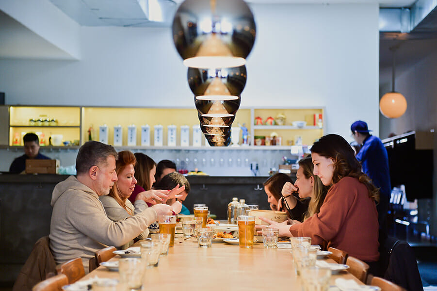 Our Williamsburg food tour. Team Building Is Worth The Money-Especially In New York