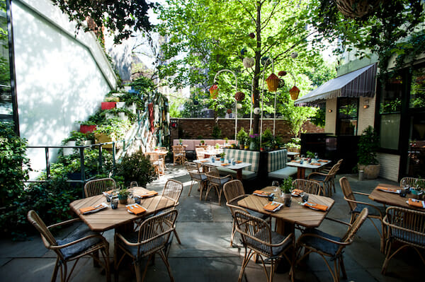Here's Your NYC Patio Brunch Guide Narcissa