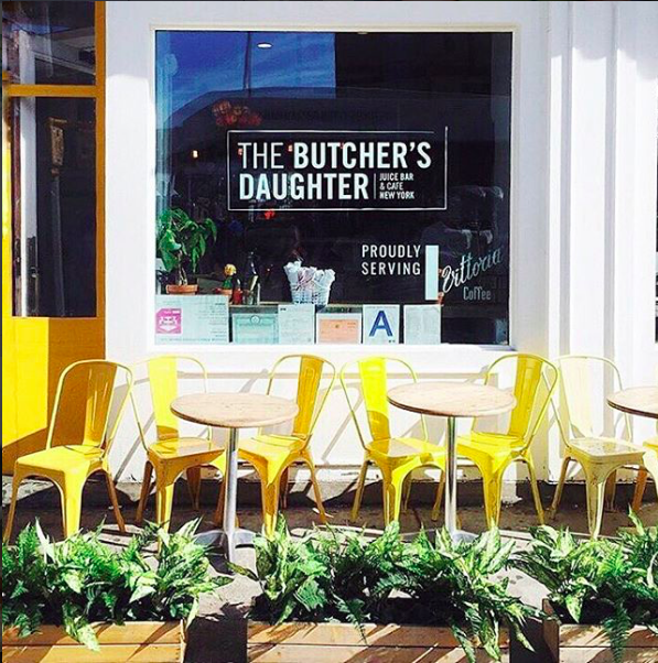 the butchers daughter: Here's Your NYC Patio Brunch Guide