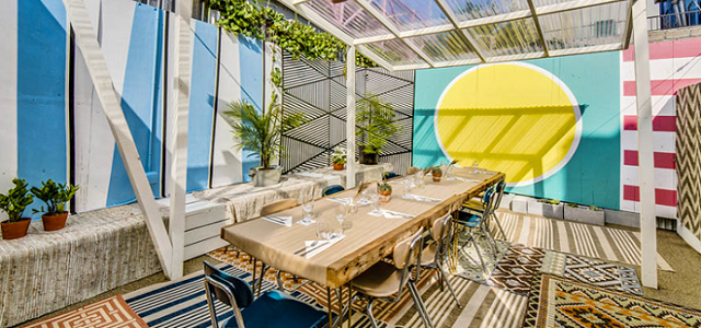 the patio at Loosie's Kitchen, Here's Your NYC Patio Brunch Guide