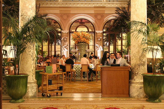have high tea at the plaza hotel: 5 Private And Intimate Birthday Party Ideas In NYC