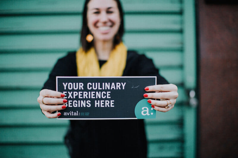 someone will facilitate your experinece : Food Tours: The Ultimate Team Building Icebreaker