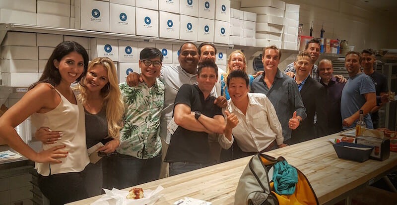 Food Tours: The Ultimate Team Building Icebreaker: hanging at blue star donuts