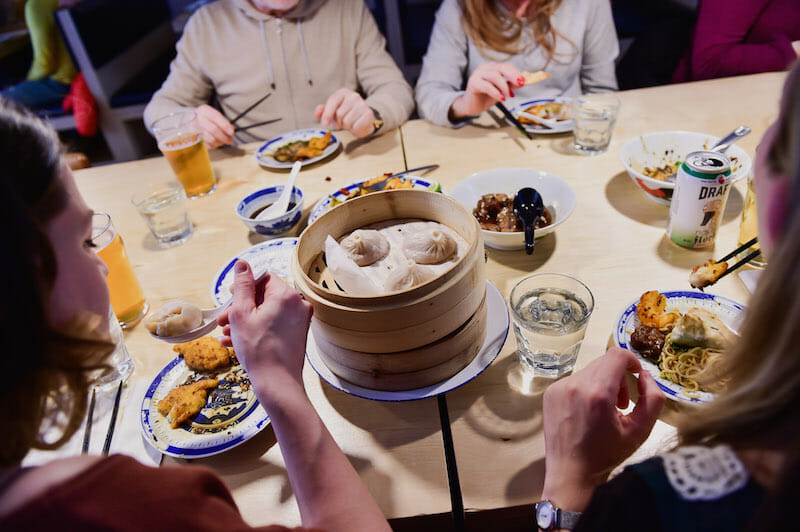 share food stories durng Food Tours: The Ultimate Team Building Icebreaker