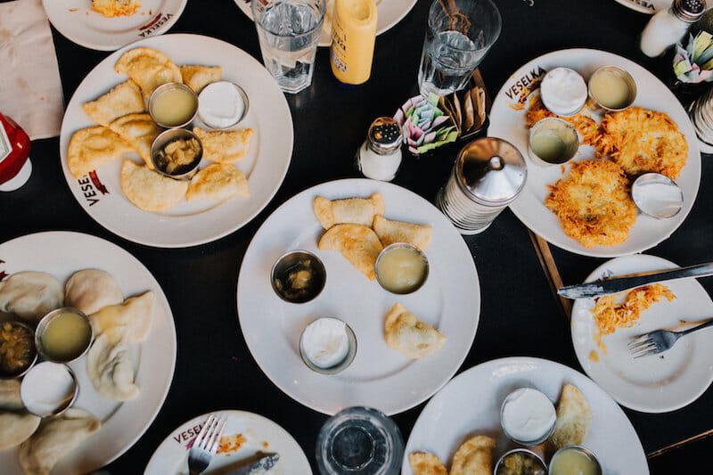 Veselka eats: 5 Group-Friendly Restaurants in NYC