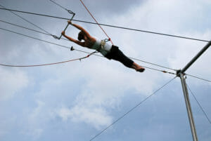learn a new skill like trapeze or cooking-Seven 40th Birthday Party Ideas in NYC