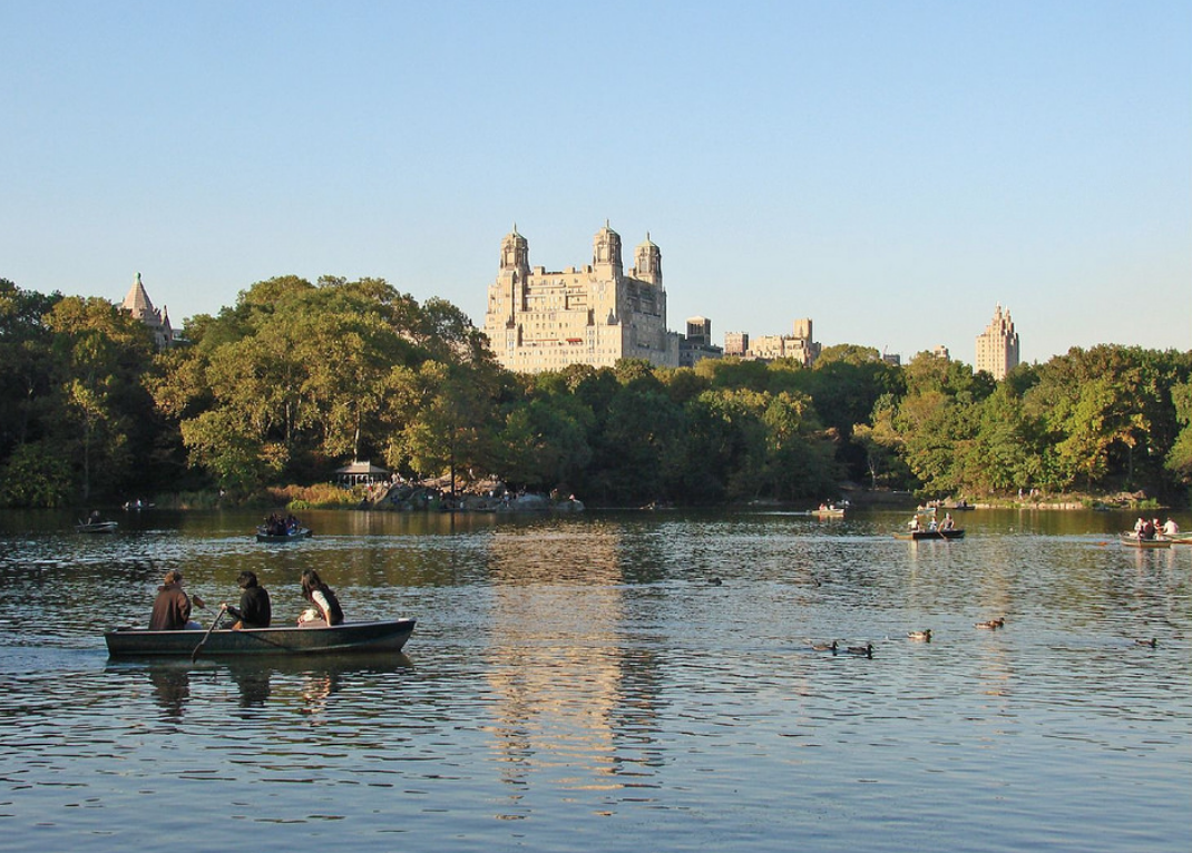 go on a date in Central Park and rent a rowboat. The Best Summer Date Ideas In NYC