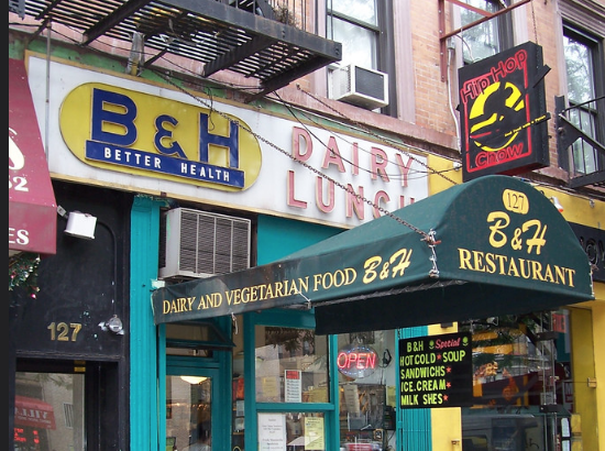 B and H Lunch Counter. 5 Best Lunch Counters in East Village
