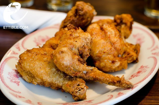 fried chicken at Bobwhite. 5 Best Lunch Counters in East Village.jpg