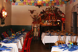 Interior of Pena Pachamama one of North Beach, South Beach and Mission Beach Restaurants with Live Music