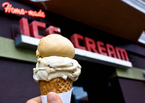 Cool and Fun Things to Do in SF When Someone Visits You: ice cream