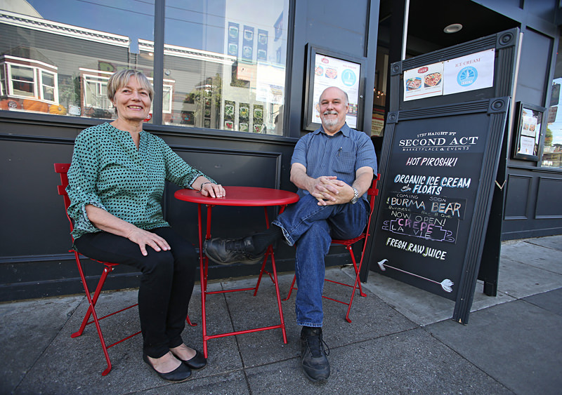Betsy and Jack Rix of Second Act Food Marketplace on Haight
