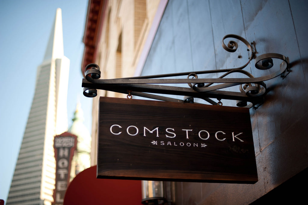 Comstock Saloon is North Beach, South Beach and Mission Beach Restaurants with Live Music