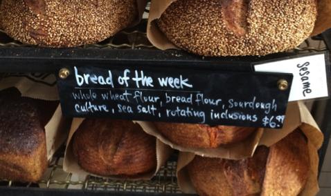 sourdough bread corporate catering tasting