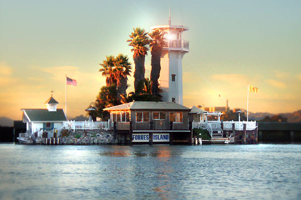 Forbes Island Restaurant in san francisco