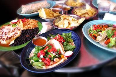mexican food at Papalote