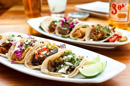 tacos at Tacolicious