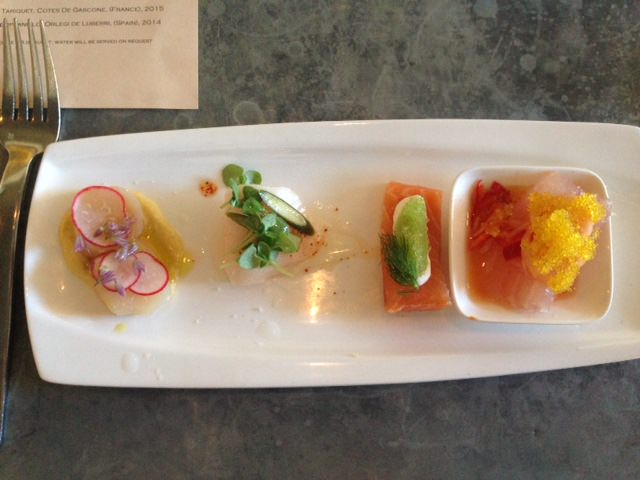 the crudo sampler at bar crudo is a must do; Five Places We Love For San Francisco Seafood