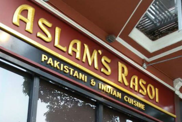 aslam's rasoi indian restaurant