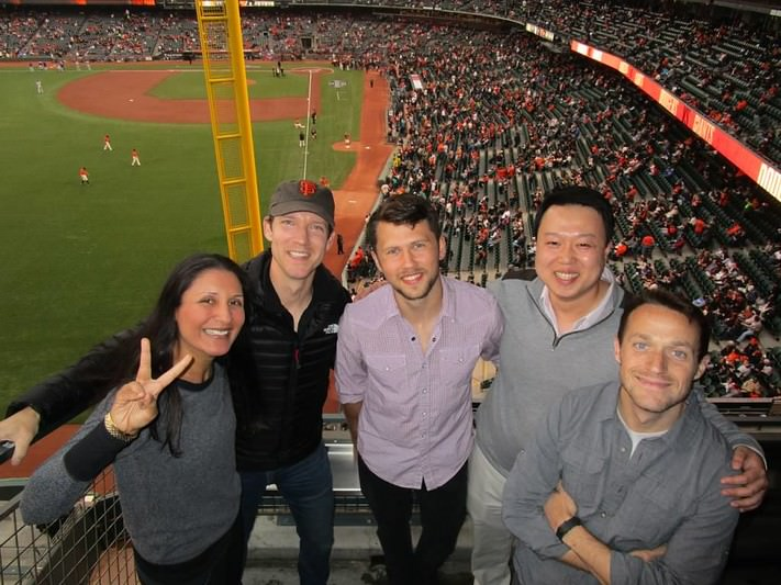 Company Party at San Francisco Giants Game