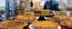 Pumpkin Pie and other pies at Mission Pie
