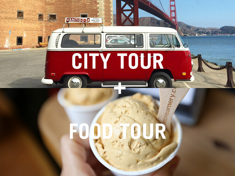 package a san francisco food tour with a city tour from vantigo